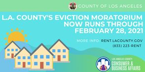 County Eviction Moratorium Extended