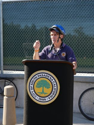 Arroyo Seco Bicycle & Pedestrian Trail South Pasadena Opening