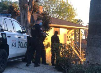 South Pasadena Police foot chase