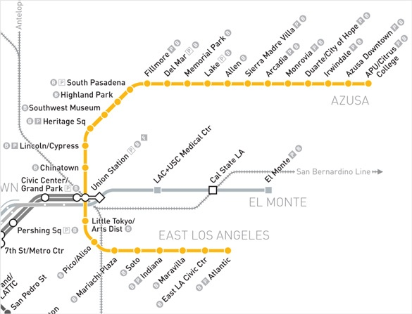 South Pasadena News Metro Gold Line Map | South Pasadena News