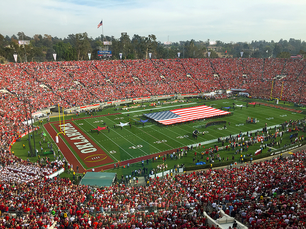Rose Bowl History is Made