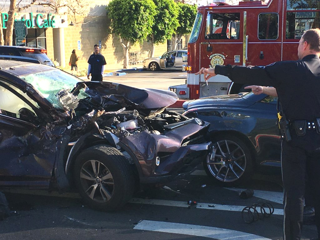 LOCAL REPORT: Major Traffic Accident at Fair Oaks and 110