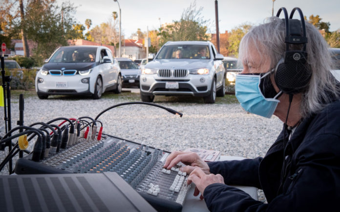 Drive-in Concert a Success | South Pasadenans Relish a Live Show on Valentine's Day