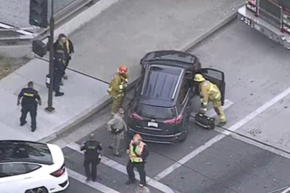 Local Coverage: Police Chase Through South Pasadena | South