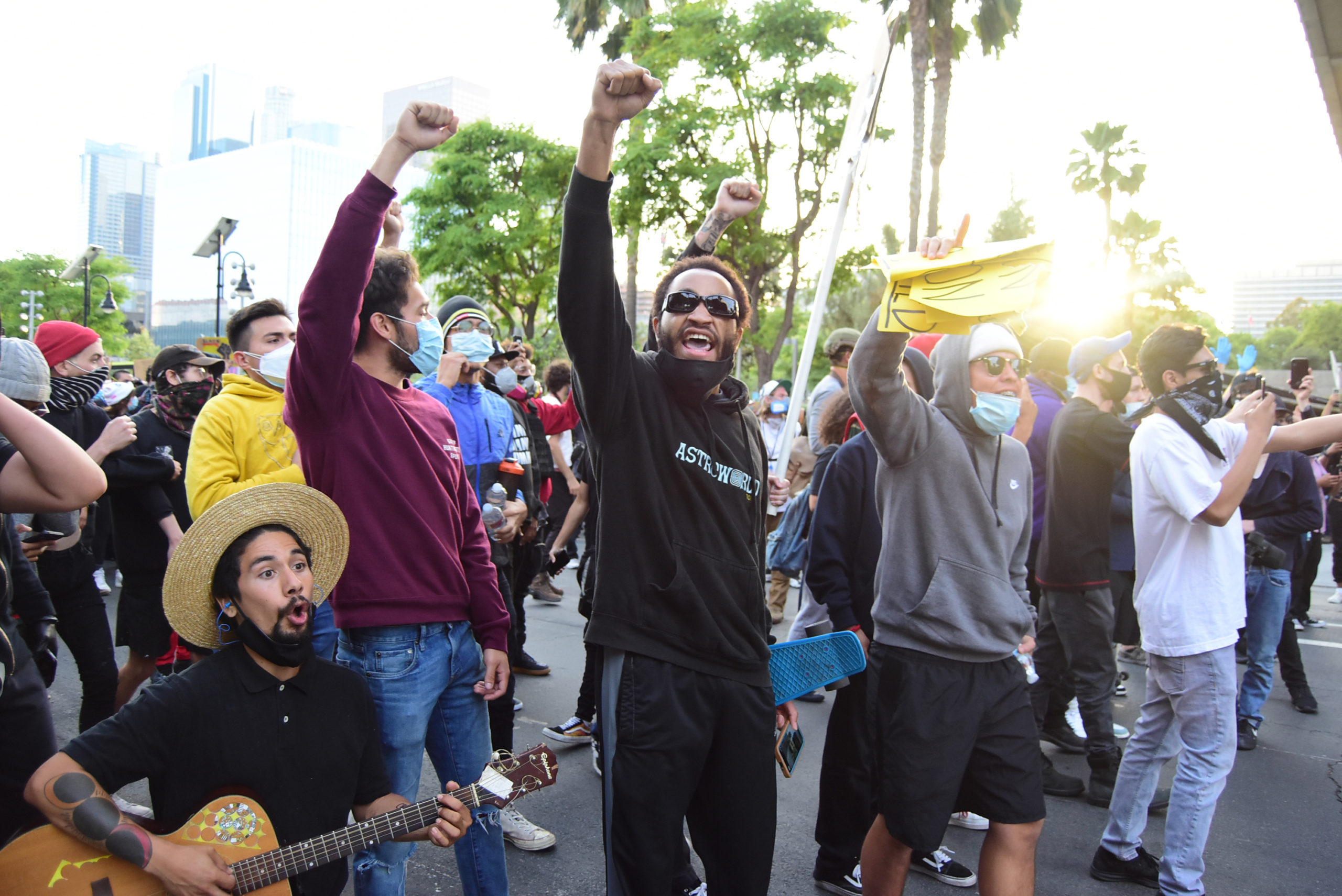 south-pasadena-news-05-31-2020-george-floyd-blm-black-lives-matter-protests-los-angeles-day-2-121