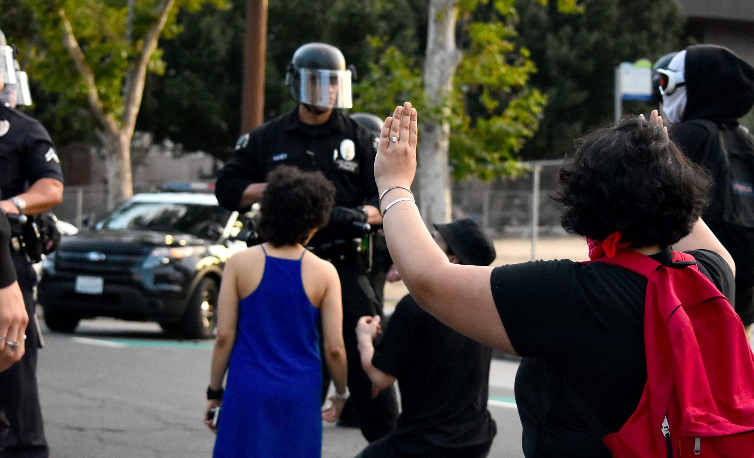 south-pasadena-news-05-31-2020-george-floyd-blm-black-lives-matter-protests-los-angeles-day-2-21