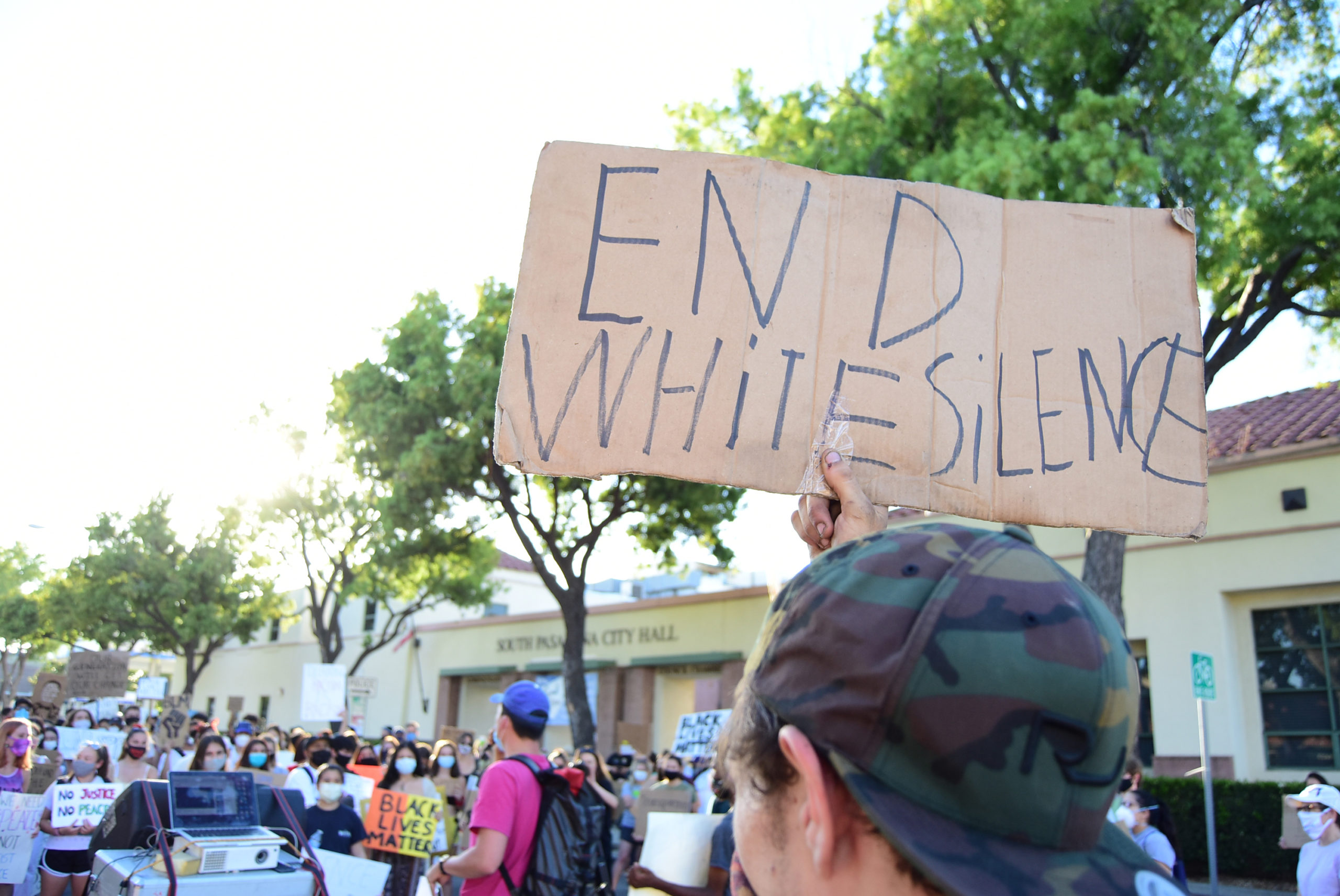 south-pasadena-news-06-12-2020-blm-black-lives-matter-sp-youth-for-police-reform-protest-city-hall-mission-st-08