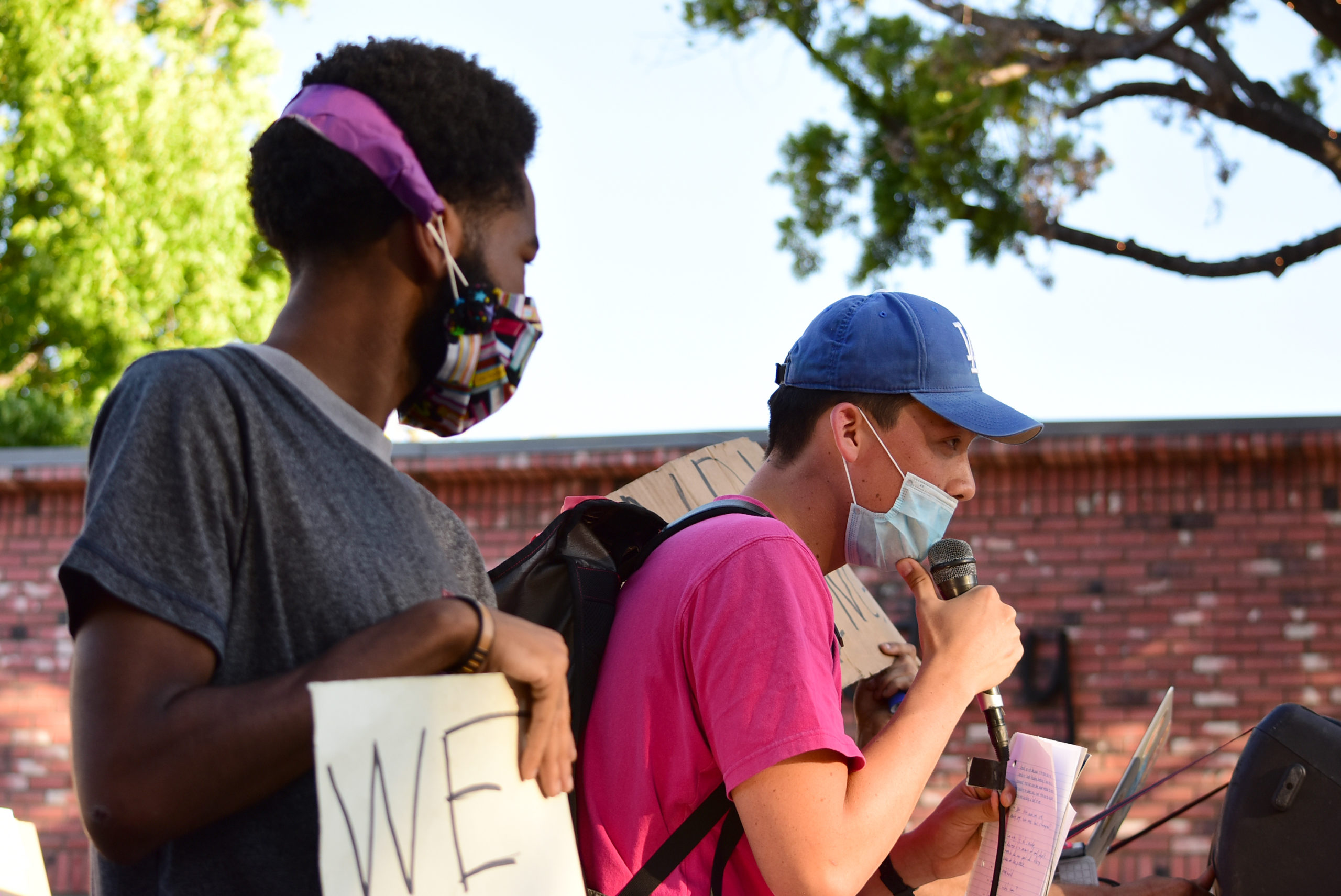 south-pasadena-news-06-12-2020-blm-black-lives-matter-sp-youth-for-police-reform-protest-city-hall-mission-st-09