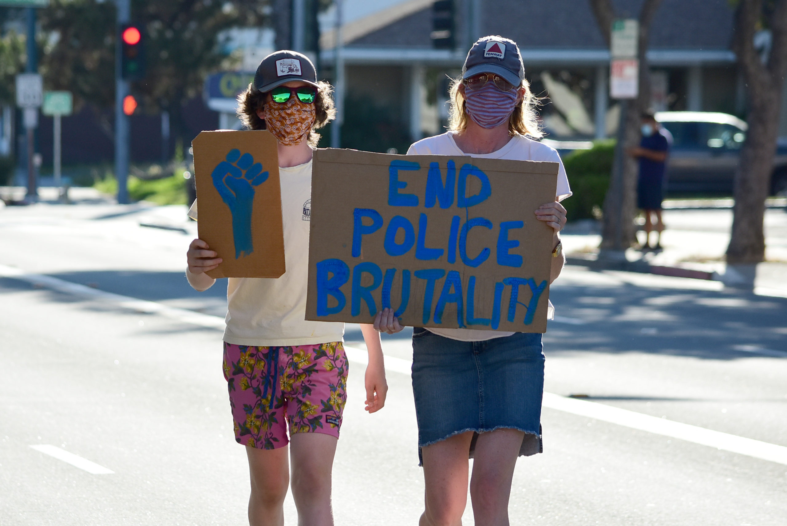 south-pasadena-news-06-12-2020-blm-black-lives-matter-sp-youth-for-police-reform-protest-city-hall-mission-st-14