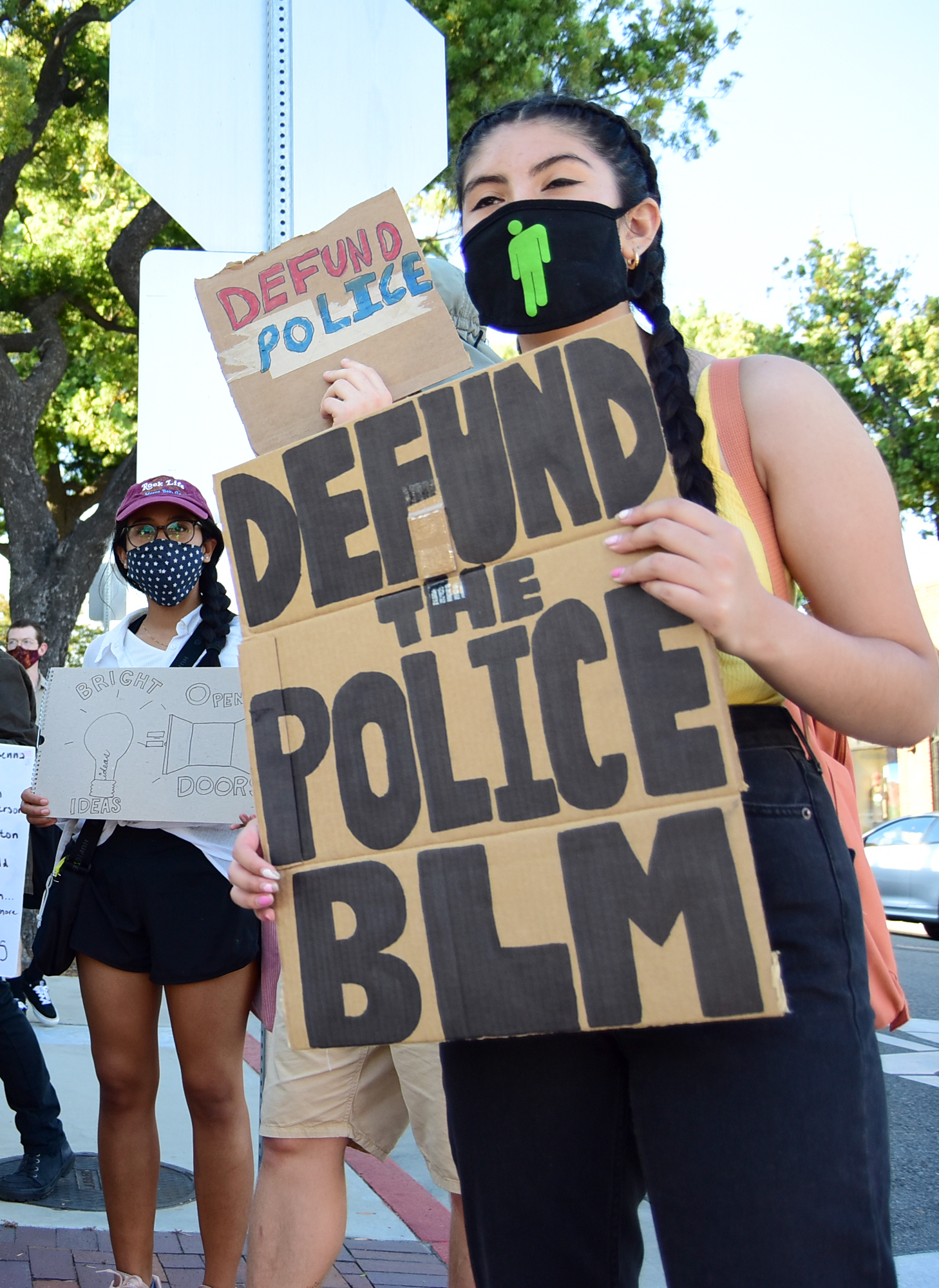 south-pasadena-news-06-12-2020-blm-black-lives-matter-sp-youth-for-police-reform-protest-city-hall-mission-st-28