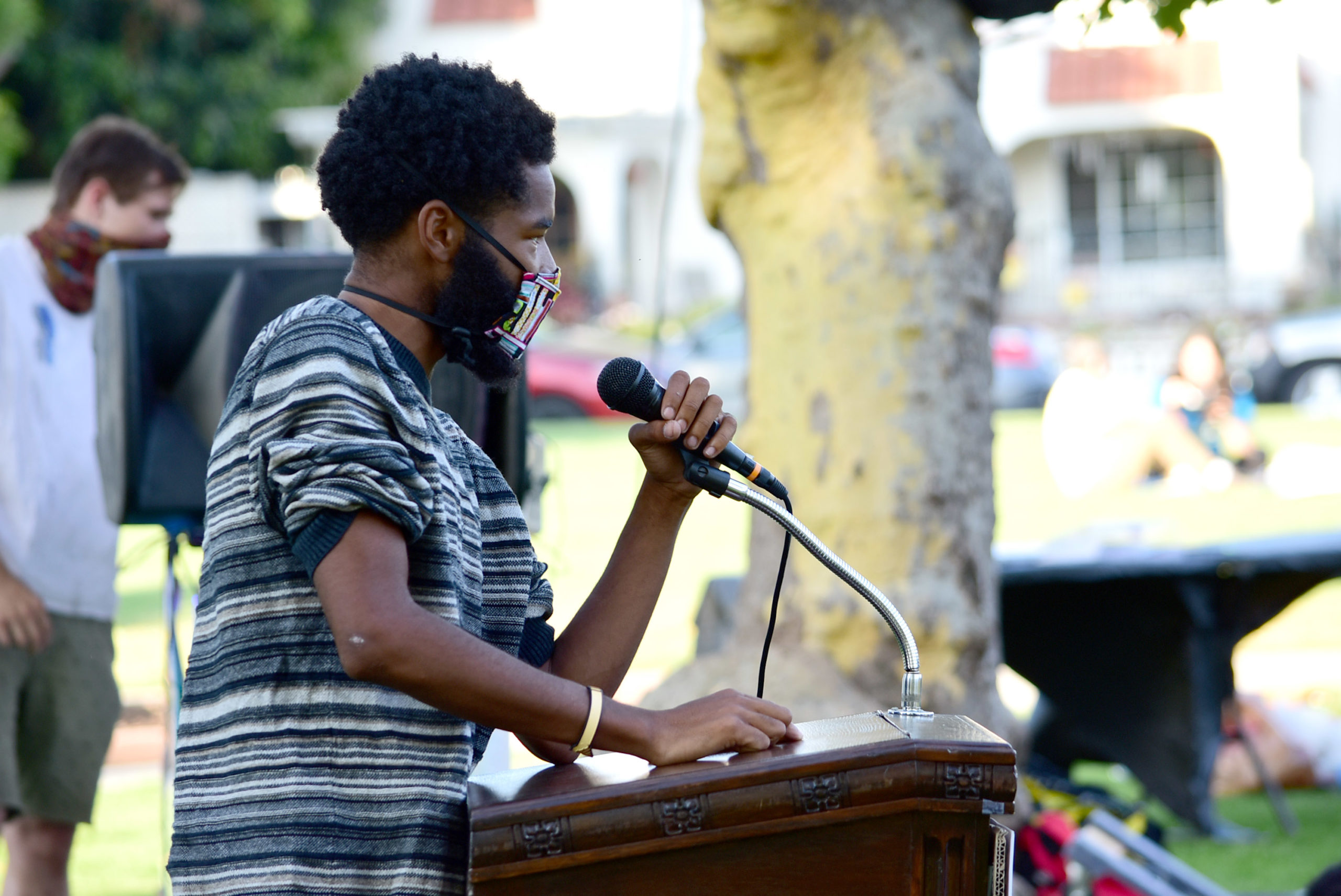 south-pasadena-news-06-25-2020-tamir-rice-vigil-memorial-sp-youth-police-reform-garfield-park-03