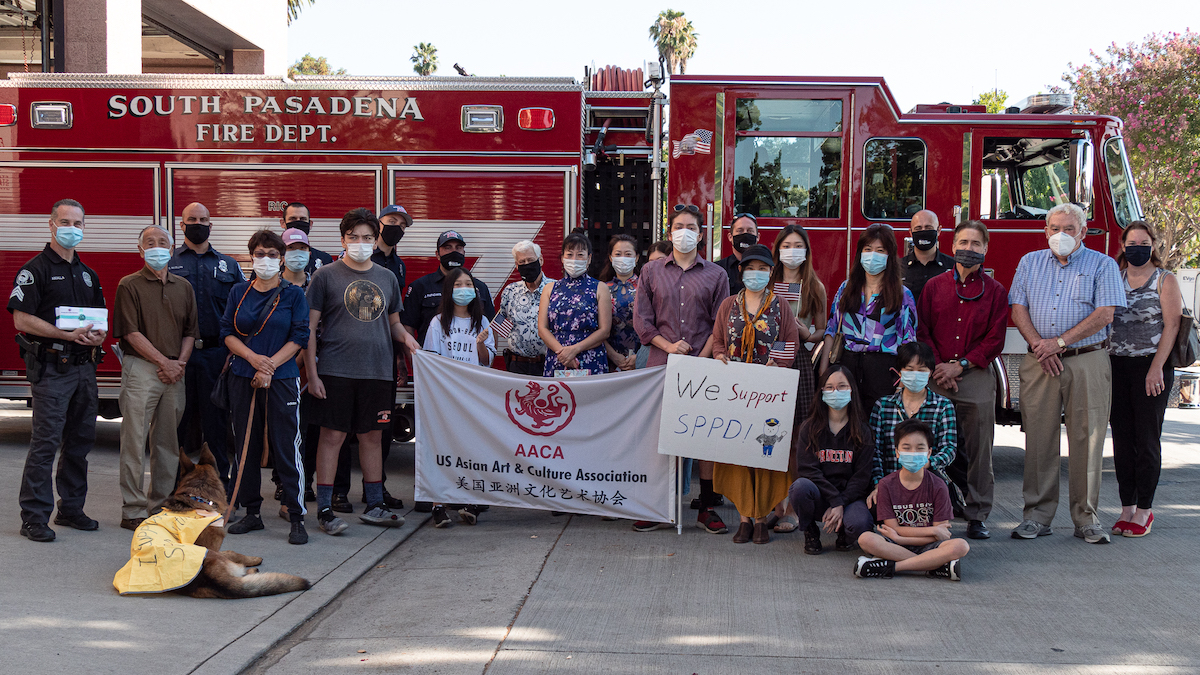 First Responders Honored | Police and Fire Receive Gifts from Asian Art & Culture Association | The South Pasadenan