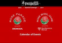 Rose Parade and Rose Bowl Game 2019 Schedule