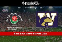 Rose Bowl Game 2019 Washington State Jake Browning