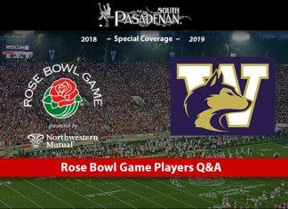 Rose Bowl Game 2019 Washington State Jake Browning