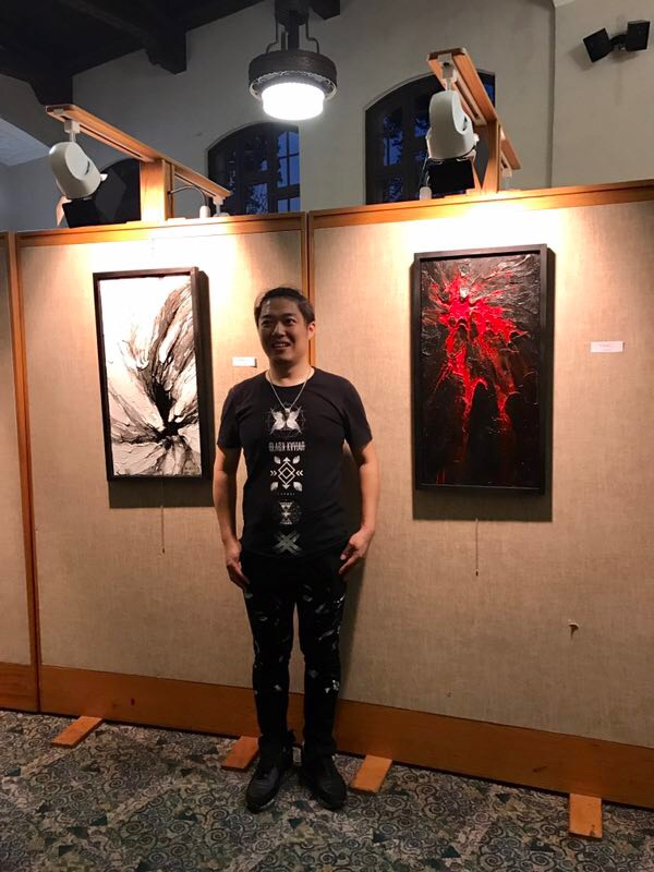Contemporary Artist Shenping Wang Donates Two Paintings to Library ...